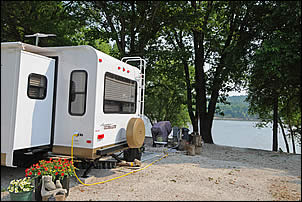 riverfront RV campsites